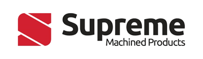 supreme machined products logo